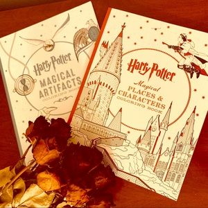 Harry Potter (2) ADULT COLORING BOOKS! NEW!